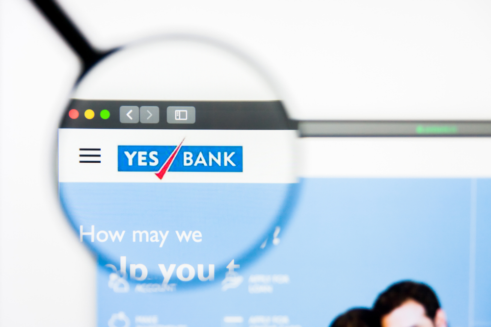 Yes Bank website