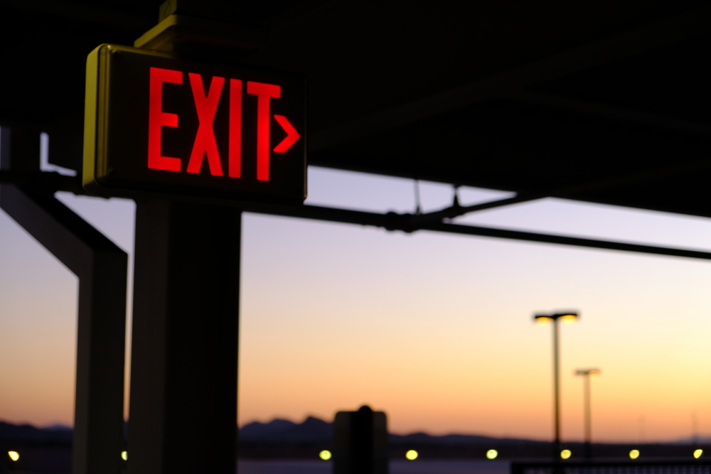 Exit wrong investments